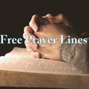 free prayer line