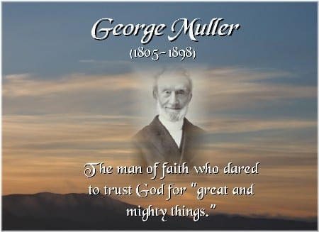 George Muller autobiography