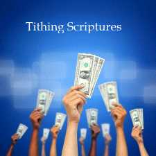 Tithing Scriptures