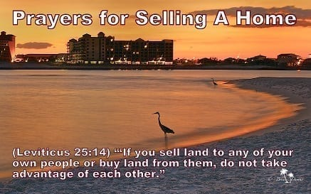 prayers for selling a home