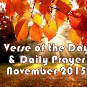 verse of the day november 2015