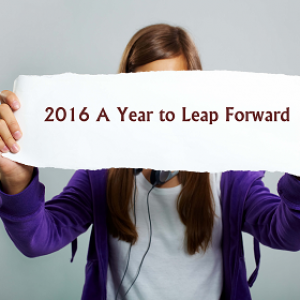 2016 A Year to Leap Forward