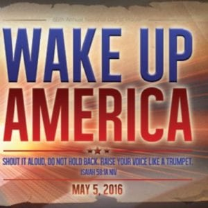2016 National Day of Prayer Webcast