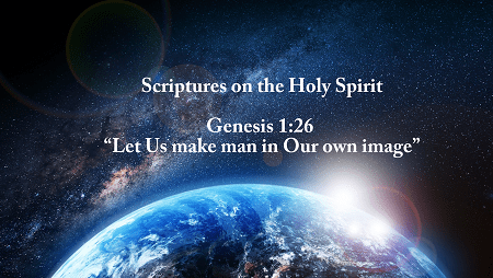 scriptures on the holy spirit