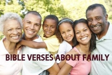 bible verses about family