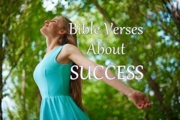 BIBLE VERSES ABOUT SUCCESS