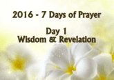 7 Days of Prayer