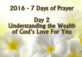 7 Days of Prayer Understanding Gods Love For You