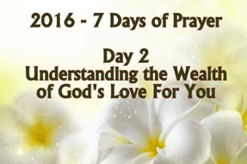 7 Days of Prayer Understanding Gods Love For You