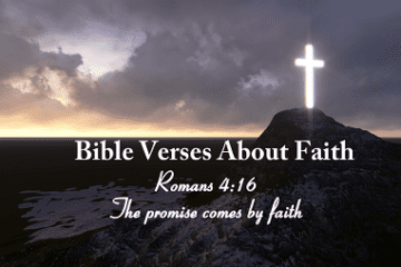 bible verses about faith