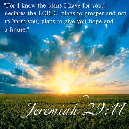 Jeremiah 29 11 13 prayer - Jer 29 11 kjv ...