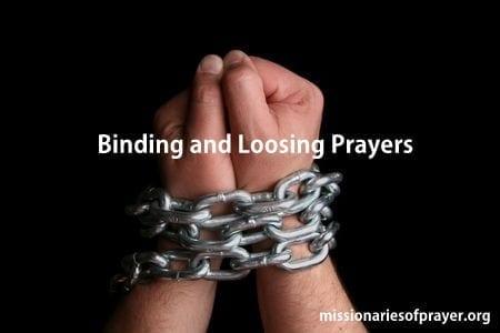 binding and loosing prayers