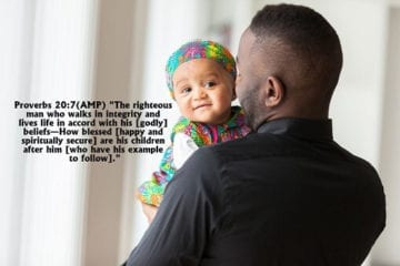 prayer and bible verses for fathers day
