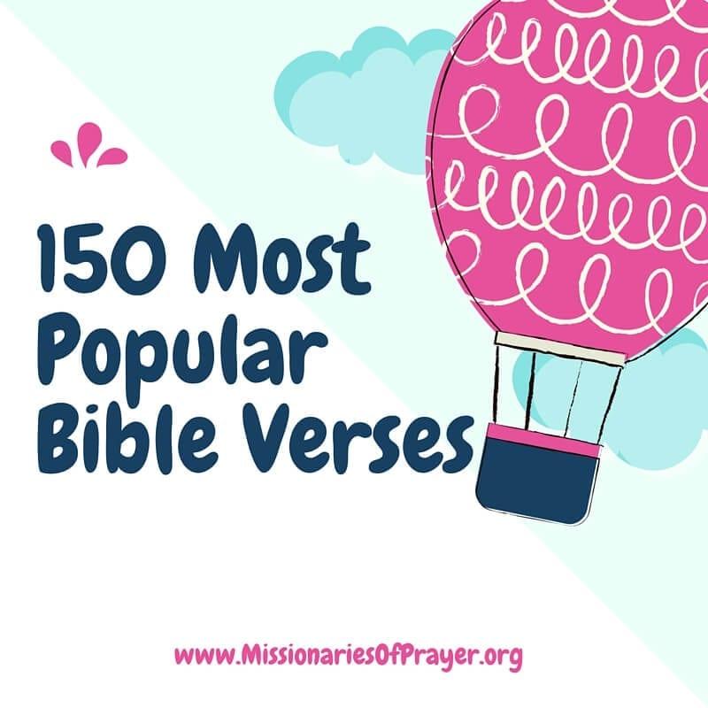 150 Popular Bible Verses