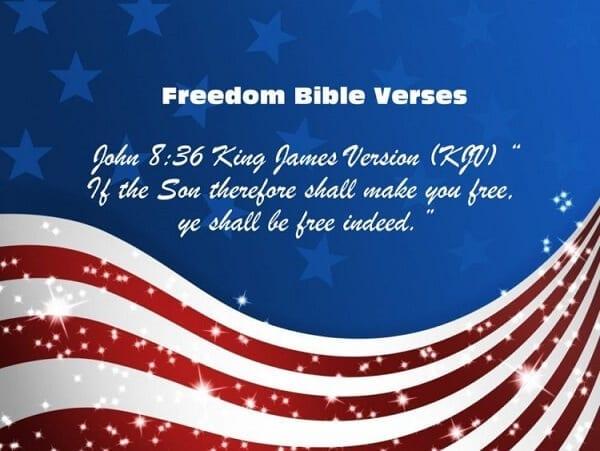Freedom Bible Verses