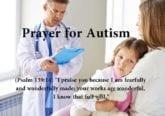 prayer for autism