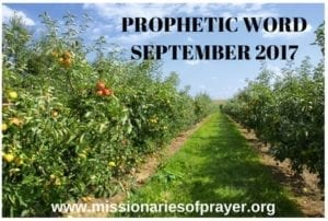 Prophetic Word September 2017 - Elul