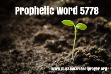 prophetic word 5778 2018
