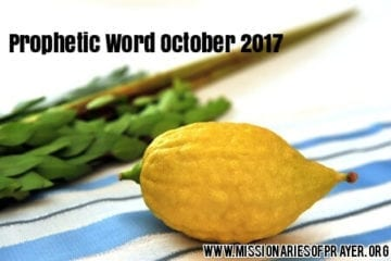 prophetic word october 2017