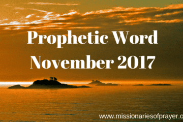 Prophetic Word November 2017