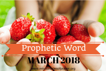 Prophetic Word for March 2018 - Adar