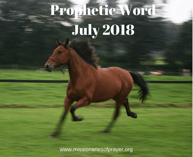 Prophetic Word July 2018