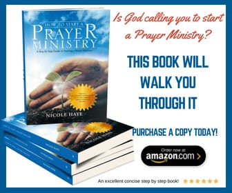 how to start a prayer ministry