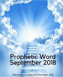 Prophetic Word September 2018
