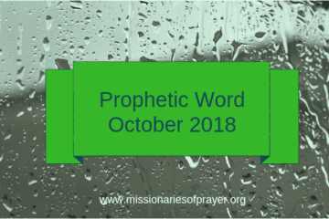 Prophetic Word October 2018