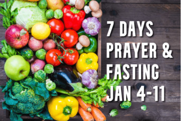 7 Days Prayer and Fasting January 2021