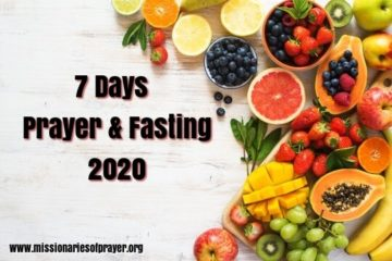7 days prayer & Fasting 2020