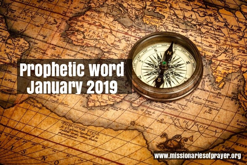 Prophetic Word for January 2019 -