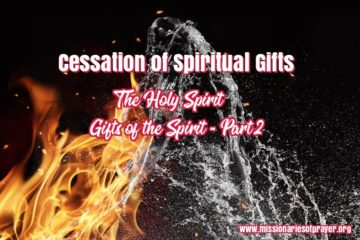 cessation of siritual gifts