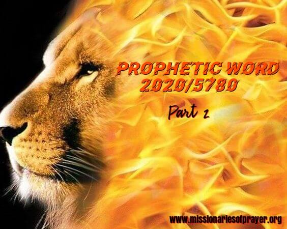 prophetic word for 2020