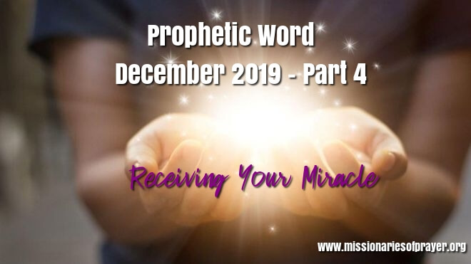 receiving your miracle