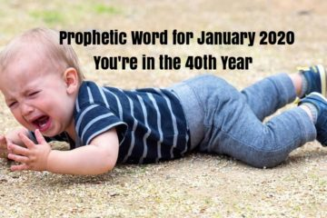 prophetic word for January 2020
