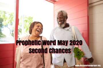 prophetic word may 2020 iyar