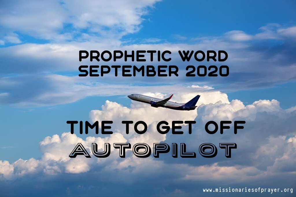 prophetic word september 2020