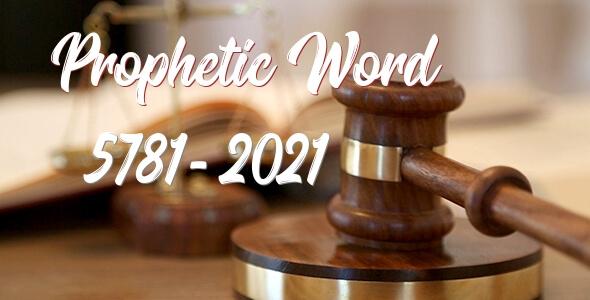 prophetic word 5781 and prophetic word 2021