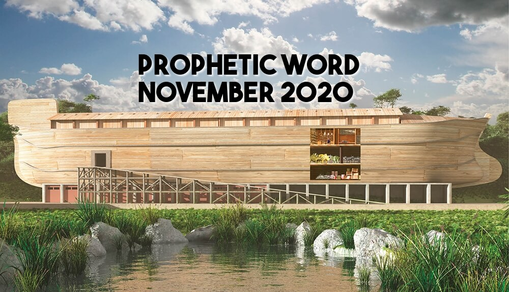 prophetic word november 2020