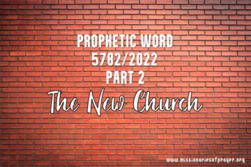 prophetic word 5782 2022 the new church